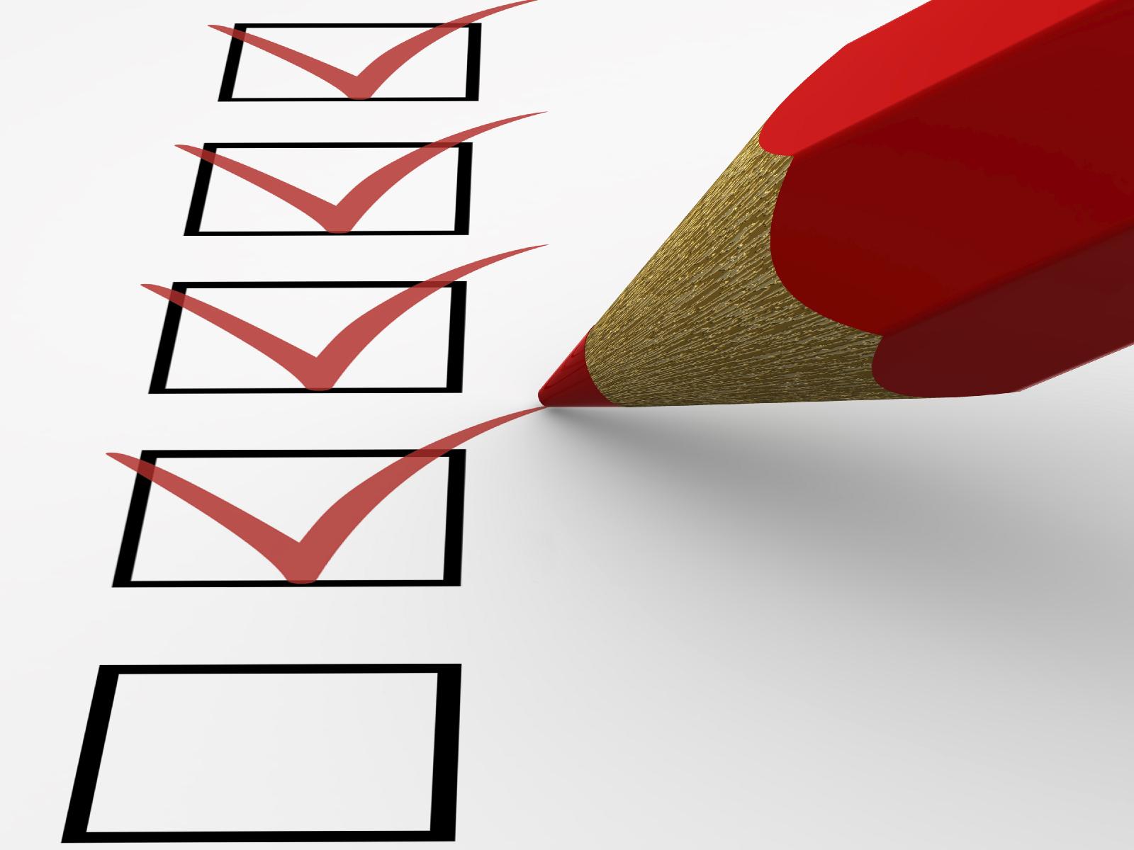 Leaving Cert Checklist