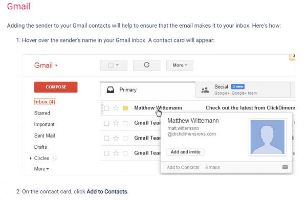 GmailSafeList